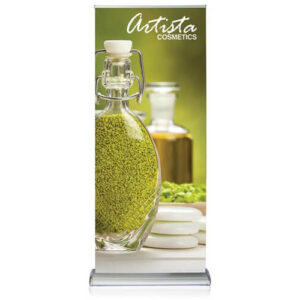 Silverstep Double-Sided Retractable Banner